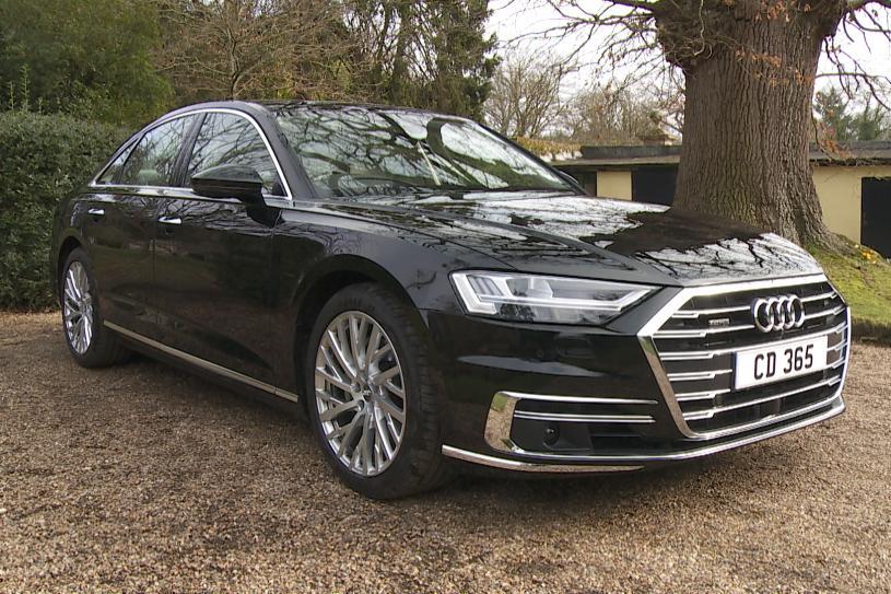 Audi A8 Diesel Saloon 50 TDI Quattro Black Edition 4dr Tiptronic