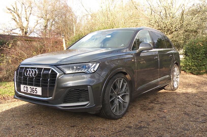 Audi Q7 Estate 55 TFSI Quattro Black Edition 5dr Tiptronic [C+S]