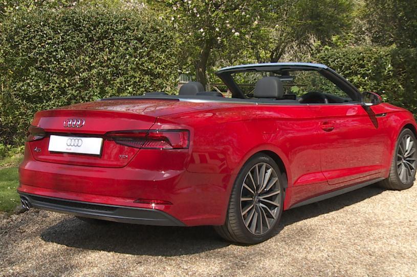 Audi A5 Cabriolet 40 TFSI 204 S Line 2dr S Tronic [Comfort+Sound]