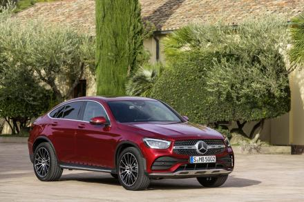 Mercedes-Benz Glc Diesel Coupe GLC 300de 4Matic AMG Line Premium Plus 5dr 9GTron