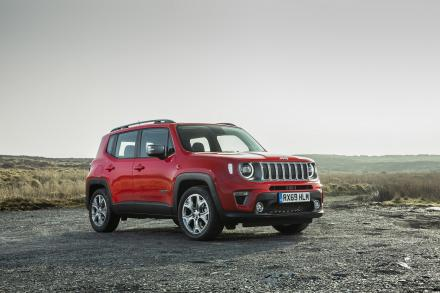Jeep Renegade Hatchback Special Edition 1.3 T4 GSE 80th Anniversary 5dr DDCT