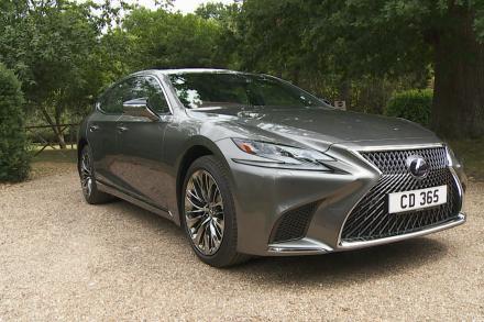 Lexus Ls Saloon 500h 3.5 [359] Takumi 4dr CVT Auto [Nishijin/Haku]
