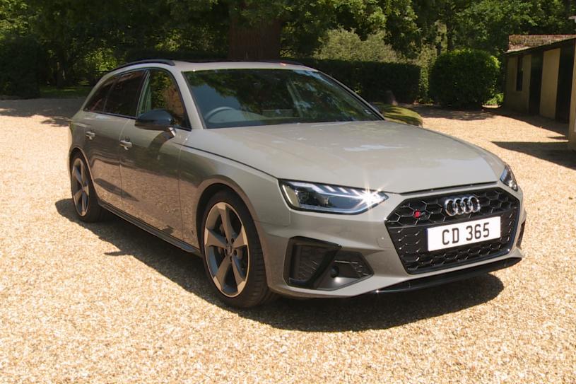 Audi A4 Diesel Saloon S4 TDI 341 Quattro Black Edition 4dr Tiptronic