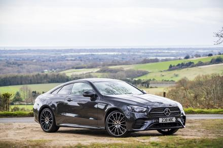 Mercedes-Benz E Class Diesel Coupe E300d 4Matic AMG Line Night Ed Pre+ 2dr 9G-Tronic