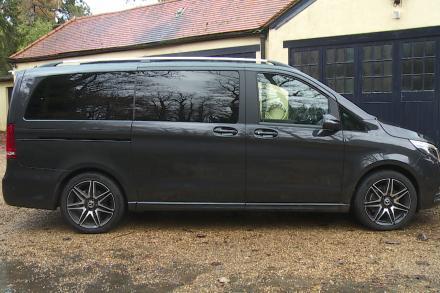Mercedes-Benz V Class Diesel Estate V300 d 237 AMG Line 5dr 9G-Tronic [Extra Long]